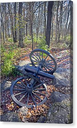 Stones River Battlefield Canvas Print by Luc Novovitch