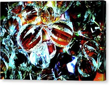 Stones2 Canvas Print by Rom Galicia