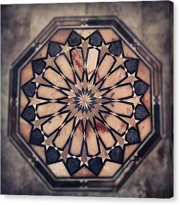 #stonwork #stons #classic #old #house Canvas Print by Abdelrahman Alawwad