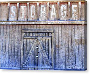 Storage - Architectural Photography Canvas Print by Karyn Robinson