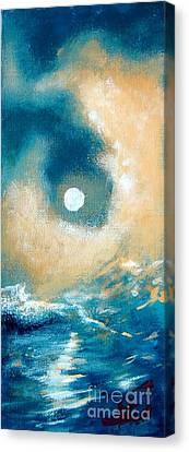 Storm Canvas Print by Ana Maria Edulescu
