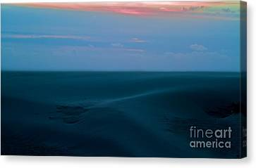 Storm And Blued Dunes Canvas Print