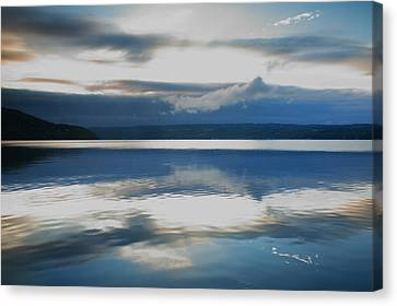 Keuka Lake Canvas Print - Storm Clearing II by Steven Ainsworth