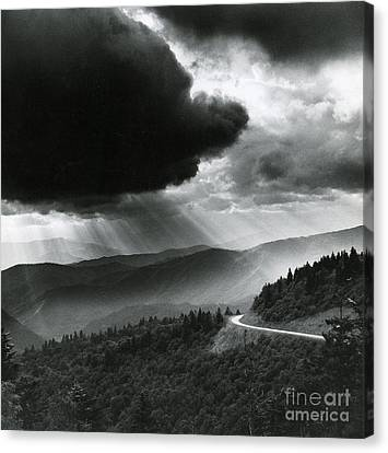 Storm Cloud Canvas Print by Bruce Roberts and Photo Researchers