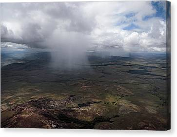 Storm Clouds Hover Above The Highlands Canvas Print by Bobby Haas