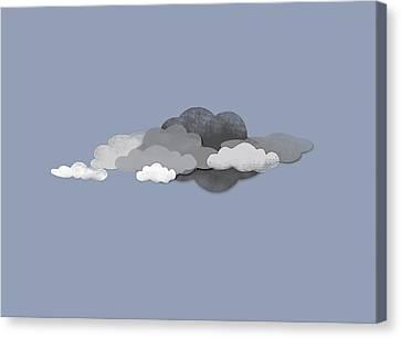 Storm Clouds Canvas Print by Jutta Kuss