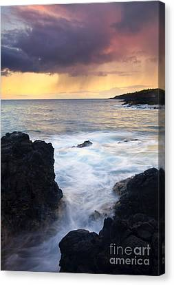 Storm Fissure Canvas Print by Mike  Dawson