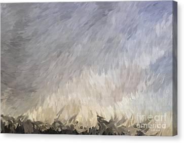 Storm In Life Canvas Print by Deborah Benoit
