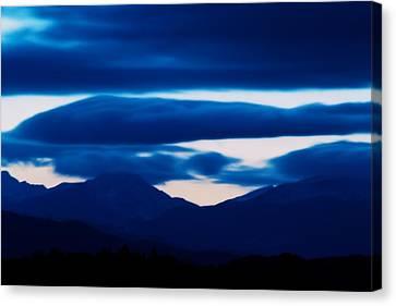 Storm Canvas Print by Kevin Bone
