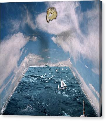 Storm Room  Canvas Print by Mark Ashkenazi