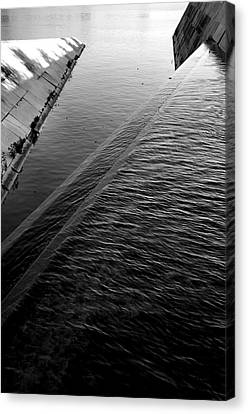 Storm Water Graphic Canvas Print by Steven Ainsworth