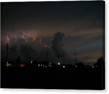 Storm's Brewing Canvas Print by Tracy Eaker-Vann
