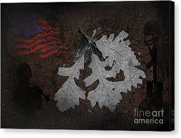 Storms Canvas Print by The Stone Age