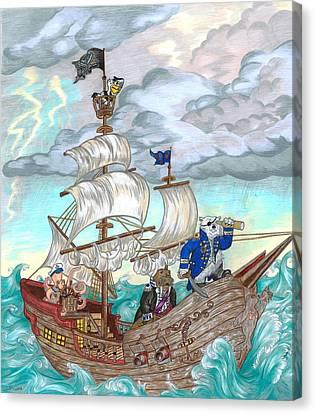 Stormy Bearings Canvas Print