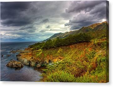 Stormy Coast Canvas Print