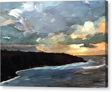 Stormy Day Canvas Print by Jon Shepodd