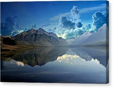 Stormy Lake Canvas Print by Marty Koch