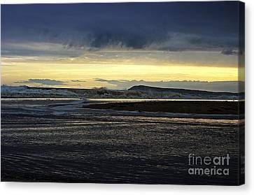 Canvas Print featuring the photograph Stormy Morning 2 by Blair Stuart