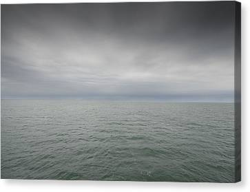 Stormy Sky, Nantucket Sound Canvas Print by Jack Flash