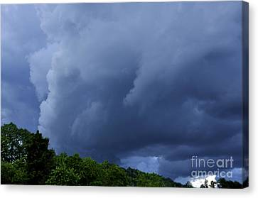 Stormy Summer Sky Canvas Print by Thomas R Fletcher