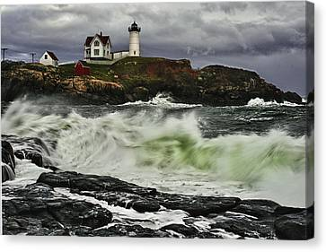 Stormy Tide Canvas Print