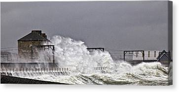 Stormy Weather Canvas Print by Fiona Messenger