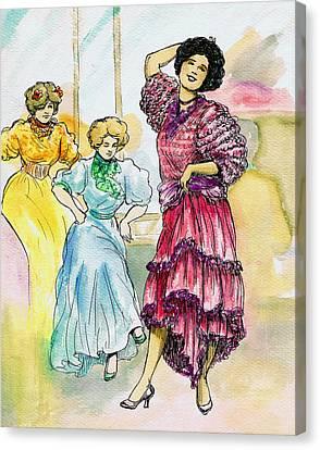 Storyville Canvas Print by Mel Thompson