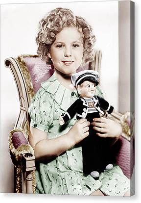 Stowaway, Shirley Temple, 1936 Canvas Print by Everett