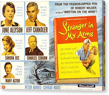 Fid Canvas Print - Stranger In My Arms, June Allyson, Jeff by Everett