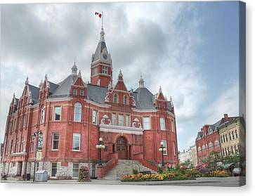Stratford City Hall Canvas Print by John-Paul Fillion