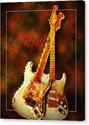 Stratocaster Canvas Print by Robert Smith
