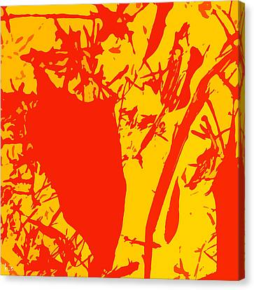 Straw Man  Canvas Print by Keren Shiker