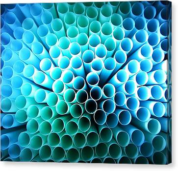 Straws Of Life Canvas Print