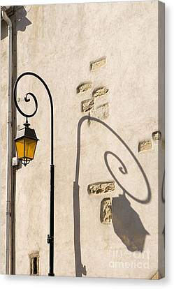 Street Lamp And Shadow Canvas Print by Igor Kislev