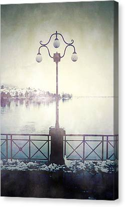 Street Lamp Canvas Print by Joana Kruse