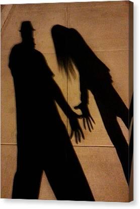 Street Shadows 006 Canvas Print
