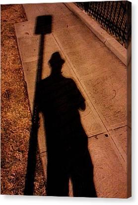 Street Shadows 008 Canvas Print