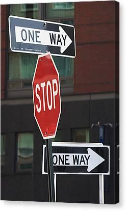 Street Signs Canvas Print