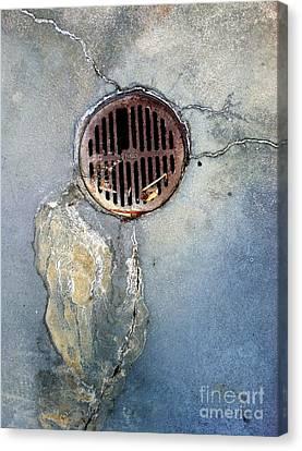 Streets Of La Jolla 7 Canvas Print by Marlene Burns