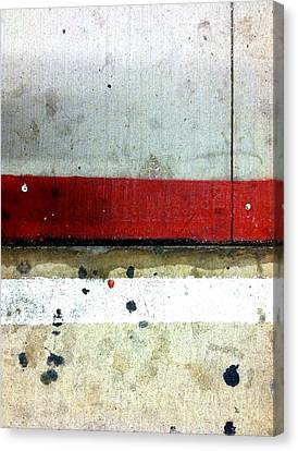 Streets Of New York Abstract Eight Canvas Print by Marlene Burns