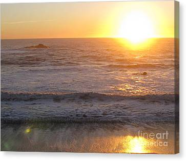 Canvas Print featuring the photograph Strength by Tina Marie