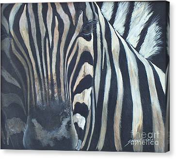 Stripes...sold  Canvas Print