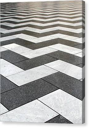 Repetition Canvas Print - Stripes by Linda Woods
