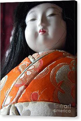 Strong Doll Canvas Print by Anita V Bauer