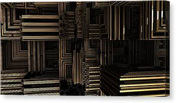 Structural Integrity Canvas Print by Ricky Jarnagin