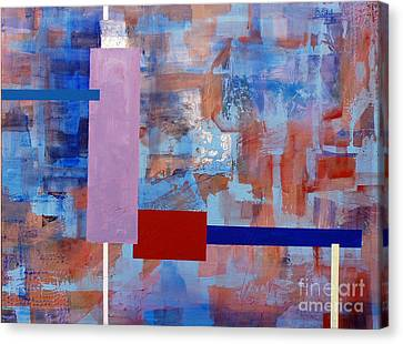 Structure No 1 Canvas Print by Walter Fahmy