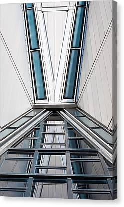 Structure Reflections Canvas Print by Colleen Coccia