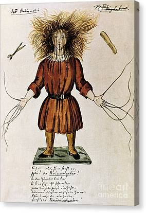 Struwwelpeter Canvas Print by Photo Researchers