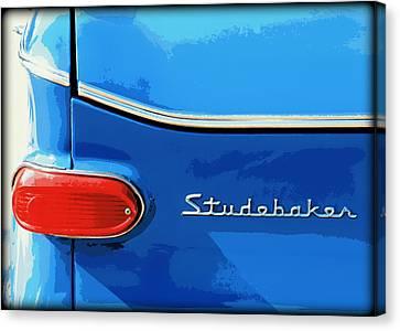 Studebaker 2 Canvas Print by Elizabeth Budd