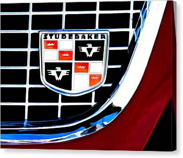 Studebaker Badge Canvas Print